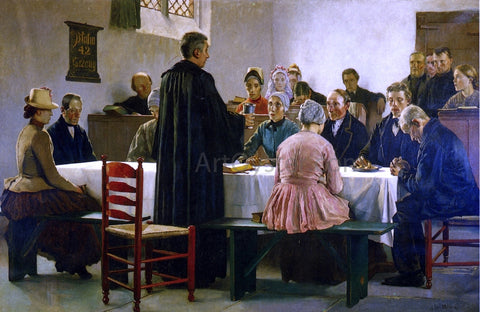 Gari Melchers Communion - Hand Painted Oil Painting