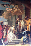 Sebastiano Ricci Communion and Martyrdom of St Lucy - Hand Painted Oil Painting