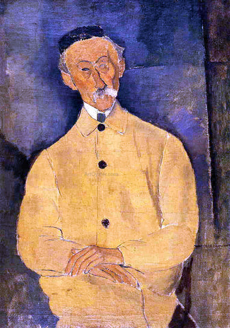 Amedeo Modigliani Constant Leopold - Hand Painted Oil Painting