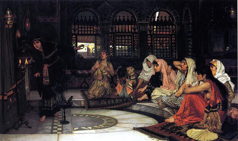 John William Waterhouse Consulting the Oracle - Hand Painted Oil Painting