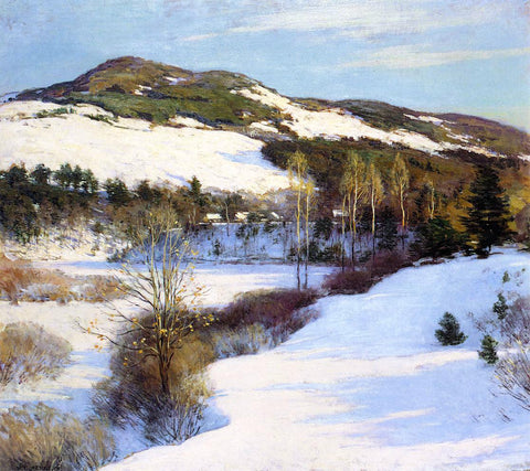 Willard Leroy Metcalf Cornish Hills - Hand Painted Oil Painting