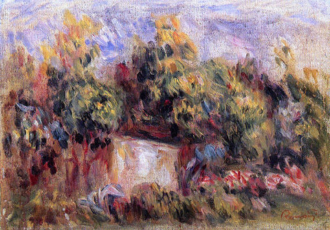 Pierre Auguste Renoir Cottage near Collettes - Hand Painted Oil Painting