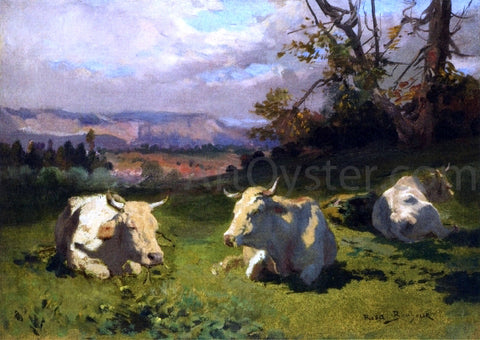 Rosa Bonheur Cows Resting - Hand Painted Oil Painting