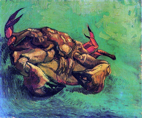Vincent Van Gogh Crab on Its Back - Hand Painted Oil Painting