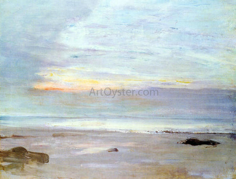 James McNeill Whistler Crepuscule in Opal: Trouville - Hand Painted Oil Painting