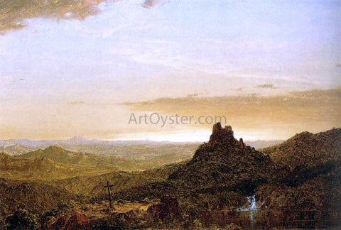 Frederic Edwin Church Cross in the Wilderness - Hand Painted Oil Painting