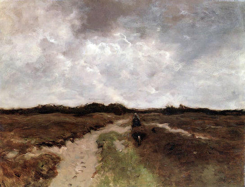 Anton Mauve Crossing the Heath - Hand Painted Oil Painting