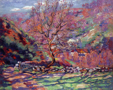 Armand Guillaumin Crozand, Solitude - Hand Painted Oil Painting