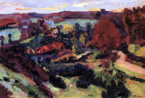Armand Guillaumin Crozant in Autumn - Hand Painted Oil Painting