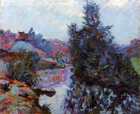 Armand Guillaumin Crozant, the Bouchardon Mill - Hand Painted Oil Painting