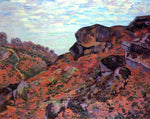 Armand Guillaumin Crozant, the Sedelle Heights, Morning - Hand Painted Oil Painting