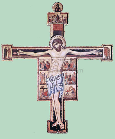 Coppo Di Marcovaldo Crucifix - Hand Painted Oil Painting