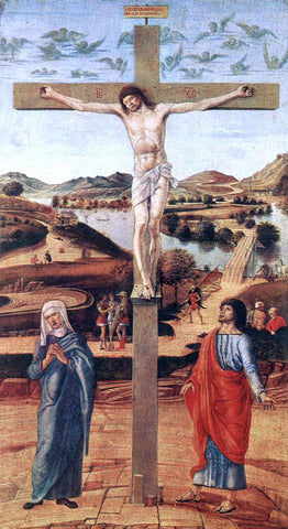 Giovanni Bellini Crucifix - Hand Painted Oil Painting