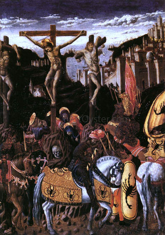 Giovanni Boccati Crucifixion - Hand Painted Oil Painting