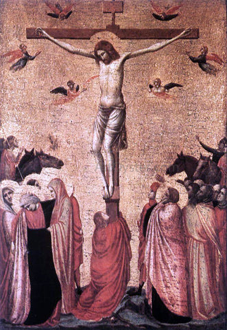 Giotto Di Bondone Crucifixion - Hand Painted Oil Painting