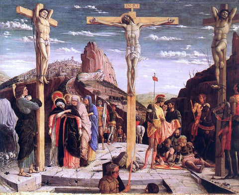 Andrea Mantegna Crucifixion - Hand Painted Oil Painting