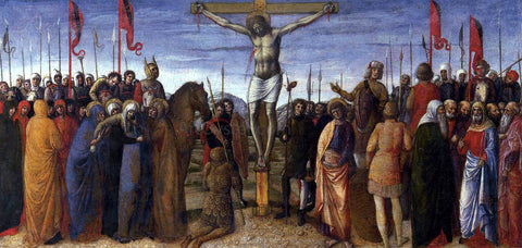Jacopo Bellini Crucifixion - Hand Painted Oil Painting