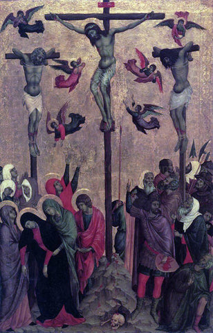 Duccio Di Buoninsegna Crucifixion - Hand Painted Oil Painting