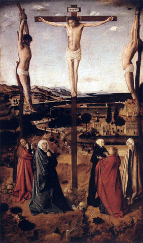Antonello Da Messina Crucifixion - Hand Painted Oil Painting