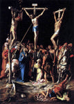 Pedro Campana Crucifixion - Hand Painted Oil Painting