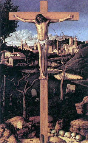 Giovanni Bellini Crucifixion - Hand Painted Oil Painting