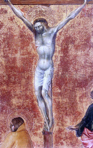 Giovanni Di Paolo Crucifixion (detail) - Hand Painted Oil Painting