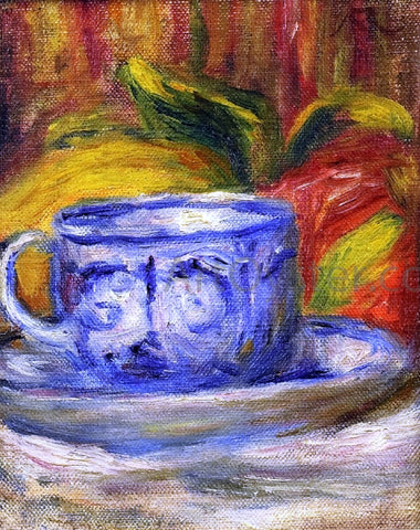 Pierre Auguste Renoir Cup and Fruit - Hand Painted Oil Painting