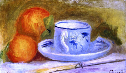 Pierre Auguste Renoir Cup and Oranges - Hand Painted Oil Painting