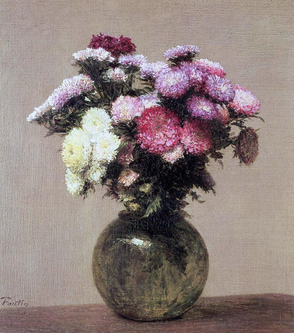Henri Fantin-Latour Daisies - Hand Painted Oil Painting