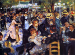 Pierre Auguste Renoir A Dance at the Moulin de la Galette - Hand Painted Oil Painting