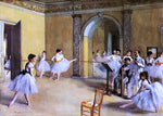 Edgar Degas Dance Class at the Opera - Hand Painted Oil Painting