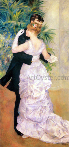 Pierre Auguste Renoir Dance in the City - Hand Painted Oil Painting