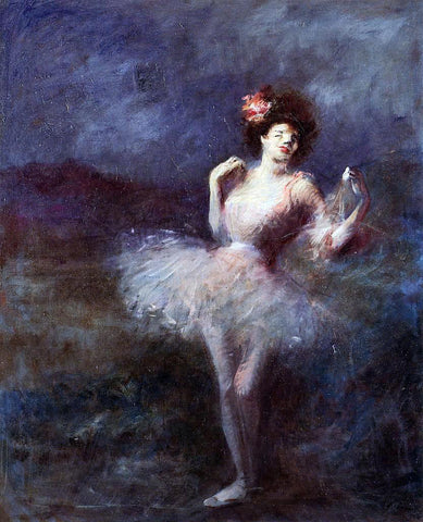 Jean-Louis Forain Dancer - Hand Painted Oil Painting