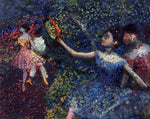 Edgar Degas Dancer and Tambourine - Hand Painted Oil Painting
