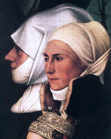 The Younger Hans Holbein Darmstadt Madonna (detail) - Hand Painted Oil Painting