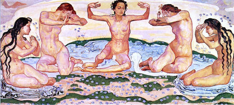 Ferdinand Hodler Day - Hand Painted Oil Painting