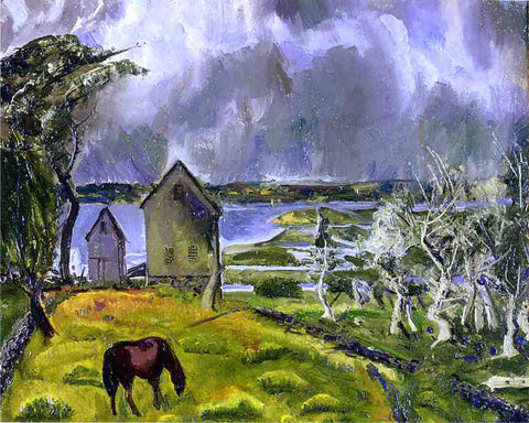 George Wesley Bellows Dead Orchard - Hand Painted Oil Painting