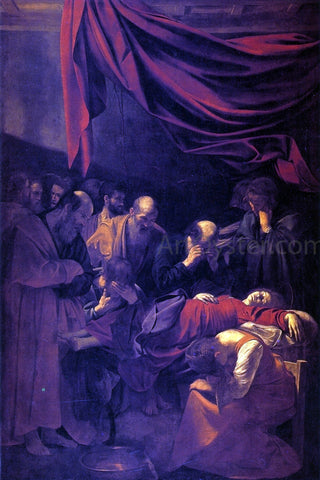 Caravaggio Death of the Virgin - Hand Painted Oil Painting