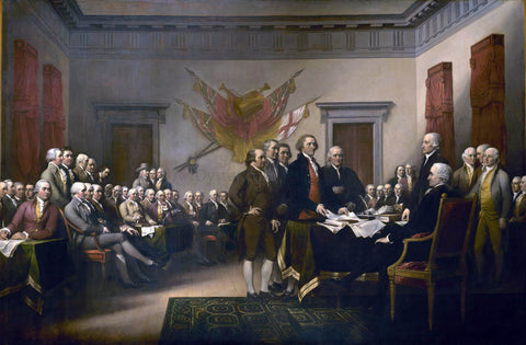 John Trumbull Declaration of Independence - Hand Painted Oil Painting