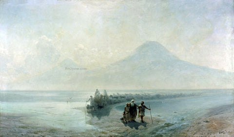 Ivan Constantinovich Aivazovsky Dejection of Noah from Mountain Ararat - Hand Painted Oil Painting
