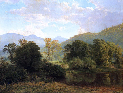 William Trost Richards Delaware Valley - Hand Painted Oil Painting