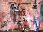 Guido Da siena Deposition - Hand Painted Oil Painting