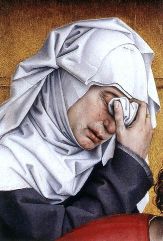 Rogier Van der Weyden Deposition (detail: 3) - Hand Painted Oil Painting