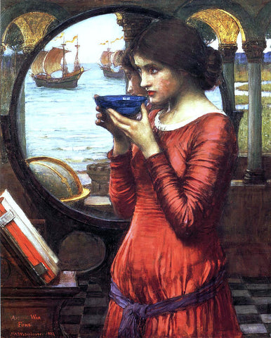 John William Waterhouse Destiny - Hand Painted Oil Painting