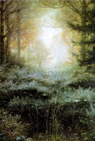 Sir Everett Millais Dew-Drenched Furze - Hand Painted Oil Painting