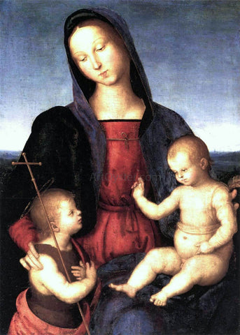 Raphael Diotalevi Madonna - Hand Painted Oil Painting