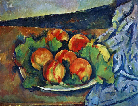 Paul Cezanne Dish of Peaches - Hand Painted Oil Painting