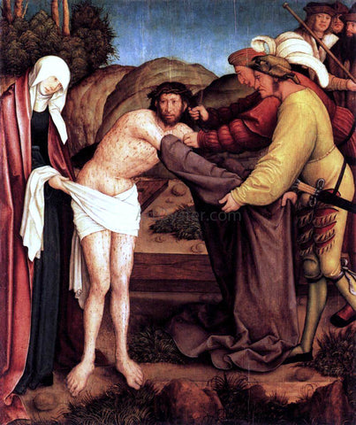 Bernhard Strigel Disrobing of Christ - Hand Painted Oil Painting