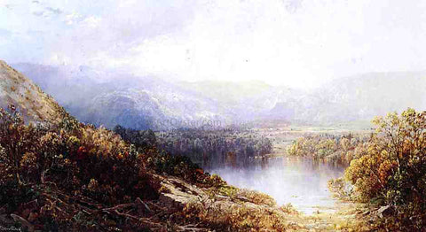 William Louis Sonntag Distant Vista - Hand Painted Oil Painting