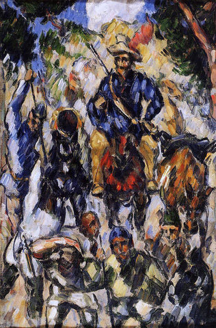 Paul Cezanne Don Quixote, Seen from the Front - Hand Painted Oil Painting